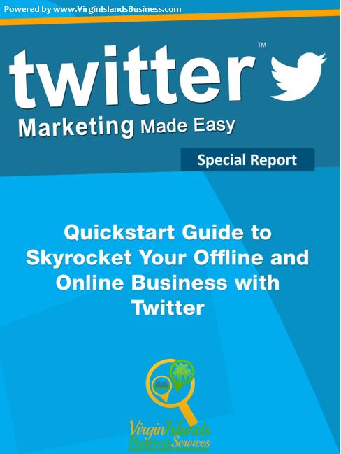 Twitter for Virgin Islands Business