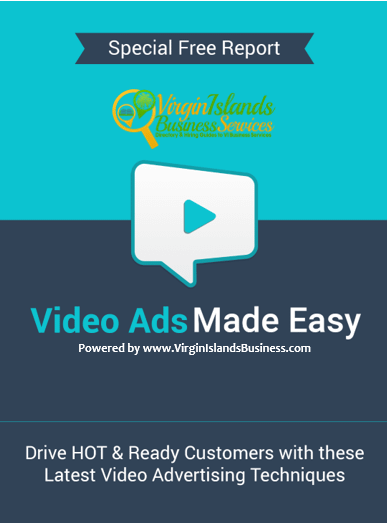 Video Ads for Virgin Islands Business
