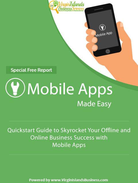 Mobile Apps for Virgin Islands Business