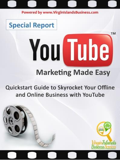 YouTube for Virgin Islands Business