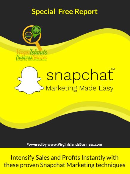 Snapchat for Virgin Islands Business